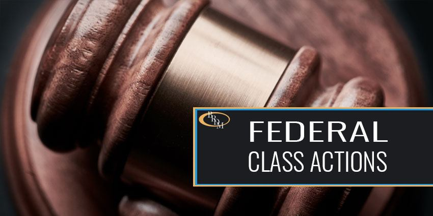 Federal Class Actions
