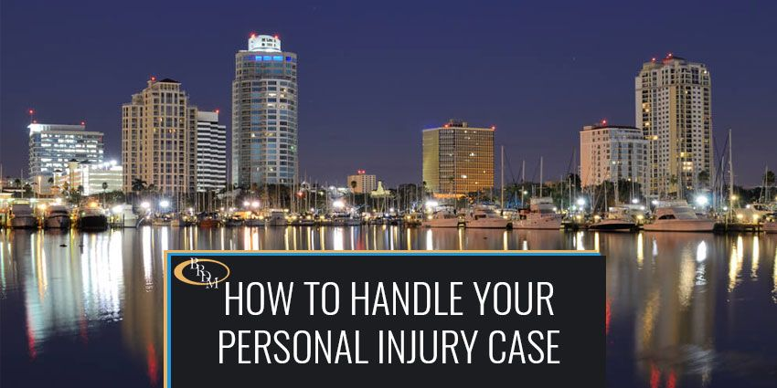 HOW TO HANDLE YOUR PINELLAS COUNTY PERSONAL INJURY CASE