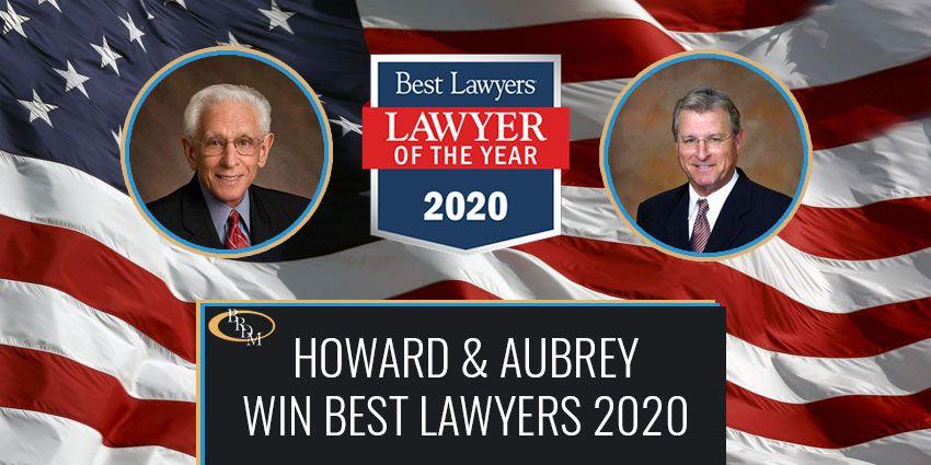 Howard & Aubrey Peer-Selected as Best Lawyers in America 2020