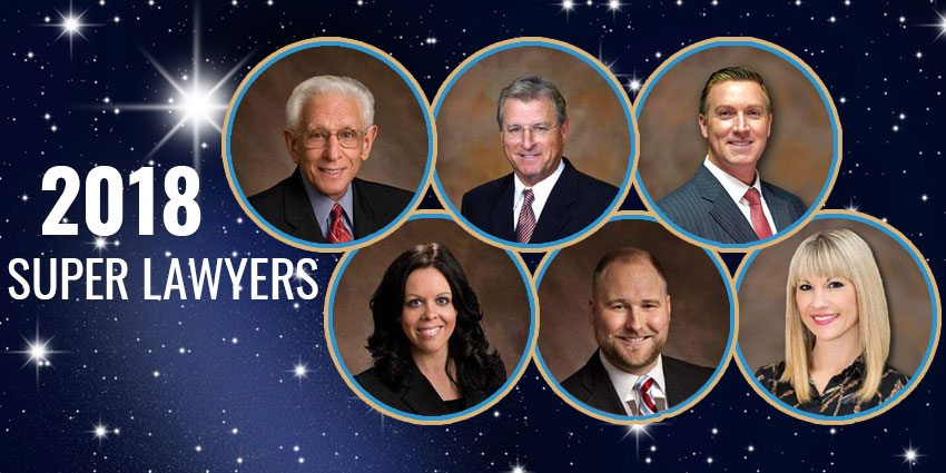 SIX ATTORNEYS AT BATTAGLIA, ROSS, DICUS & MCQUAID, P.A. RECEIVE SUPER LAWYERS DESIGNATIONS