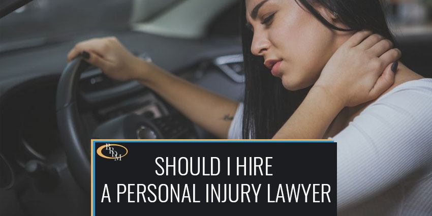 Should I Hire a Personal Injury Lawyer