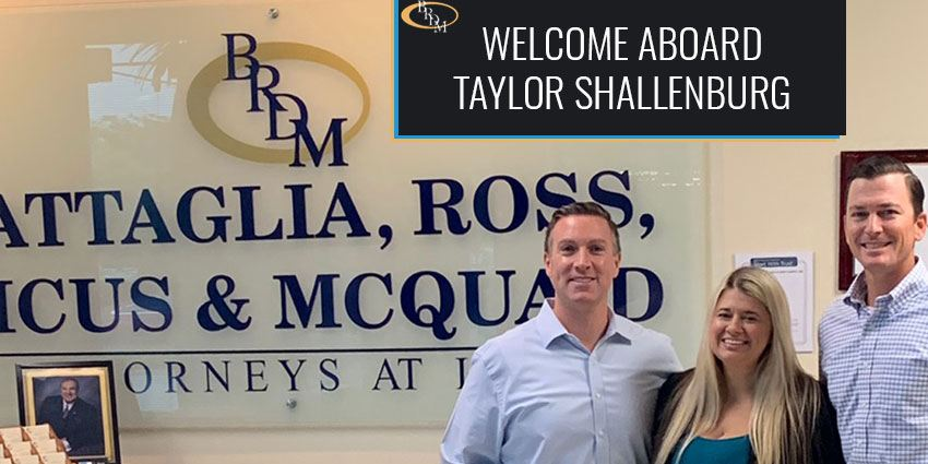 Taylor Shallenburg Joins The Firm